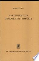 Vorstufen zur Demokratie-Theorie