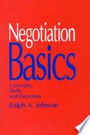 Negotiation Basics