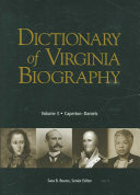 Dictionary Of Virginia Biography Caperton Daniels