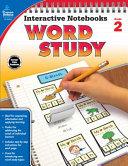 Interactive Notebooks Word Study  Grade 2