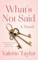 What's Not Said [Pdf/ePub] eBook