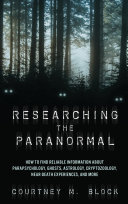 Researching the Paranormal
