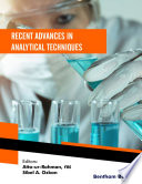 Recent Advances in Analytical Techniques  Volume 4 Book