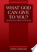 What God Can Give To You