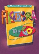 Algebra to Go Book