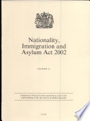 Nationality, Immigration and Asylum Act 2002