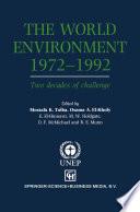 The World Environment 1972   1992