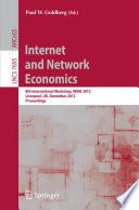 Internet and Network Economics