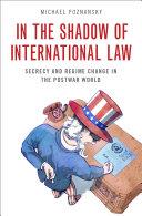 In the Shadow of International Law [Pdf/ePub] eBook