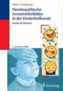 Homöopathische Arzneimittelbilder in der Kinderheilkunde