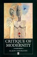Critique of Modernity