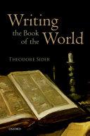 Writing the Book of the World [Pdf/ePub] eBook