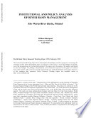Institutional and Policy Analysis of River Basin Management The Murray Darling River Basin  Australia