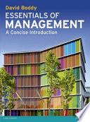 Essentials of Management