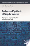 Analysis and Synthesis of Singular Systems Book