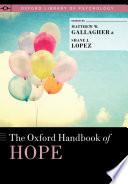 The Oxford Handbook of Hope