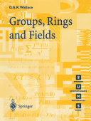 Groups, Rings and Fields [Pdf/ePub] eBook