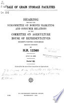 Hearings Before the Committee on Agriculture  House of Representatives  Eighty ninth Congress
