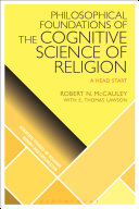 Pdf Philosophical Foundations of the Cognitive Science of Religion Telecharger