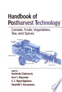 Handbook Of Postharvest Technology Book PDF
