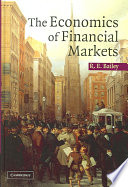 The Economics of Financial Markets Book