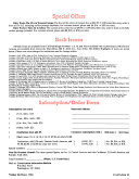 Covertaction Information Bulletin
