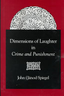 Pdf Dimensions of Laughter in Crime and Punishment Telecharger