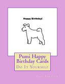Pumi Happy Birthday Cards