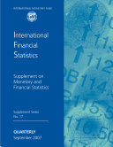 Ifs Supplement On Monetary And Financial Statistics September 2007 Book PDF