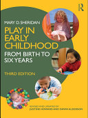 Play in Early Childhood