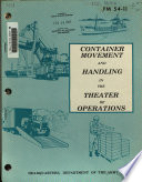 Container Movement and Handling in the Theater of Operations