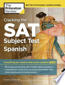 link to Cracking the SAT subject test in Spanish in the TCC library catalog