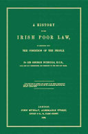 A History of the Irish Poor Law