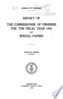 Report of the Commissioner Book