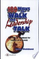 180 Ways to Walk the Leadership Talk
