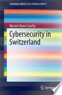 Cybersecurity in Switzerland Book