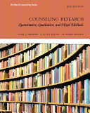 Counseling Research   Mycounselinglab With Pearson Etext Access Card