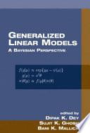 Generalized Linear Models Book PDF