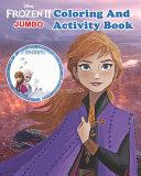Disney Frozen and Frozen 2 Coloring Book   Activity