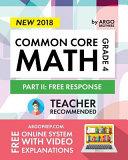 Common Core Math Workbook, Grade 4