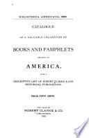 Bibliotheca Americana 1883