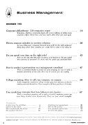 Business Management Book