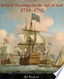 British Warships In The Age Of Sail 1714 1792