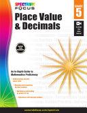 Spectrum Place Value and Decimals  Grade 5