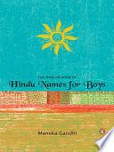 Penguin Book Of Hindu Names For Boys