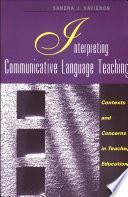 Interpreting Communicative Language Teaching