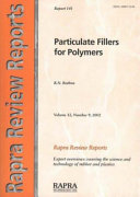 Particulate Fillers for Polymers