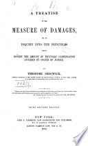 A Treatise on the Measure of Damages Book