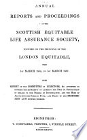 Annual Reports And Proceedings Etc 1 March 1834 1 March 1837