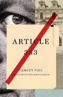 Article 353 Pdf/ePub eBook